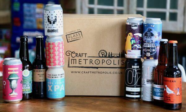 The We Pick Crsft beer Box