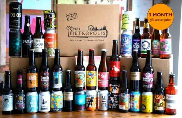 3 month craft beer gift subscription